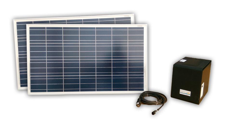 mitnehmbares Solarmodul