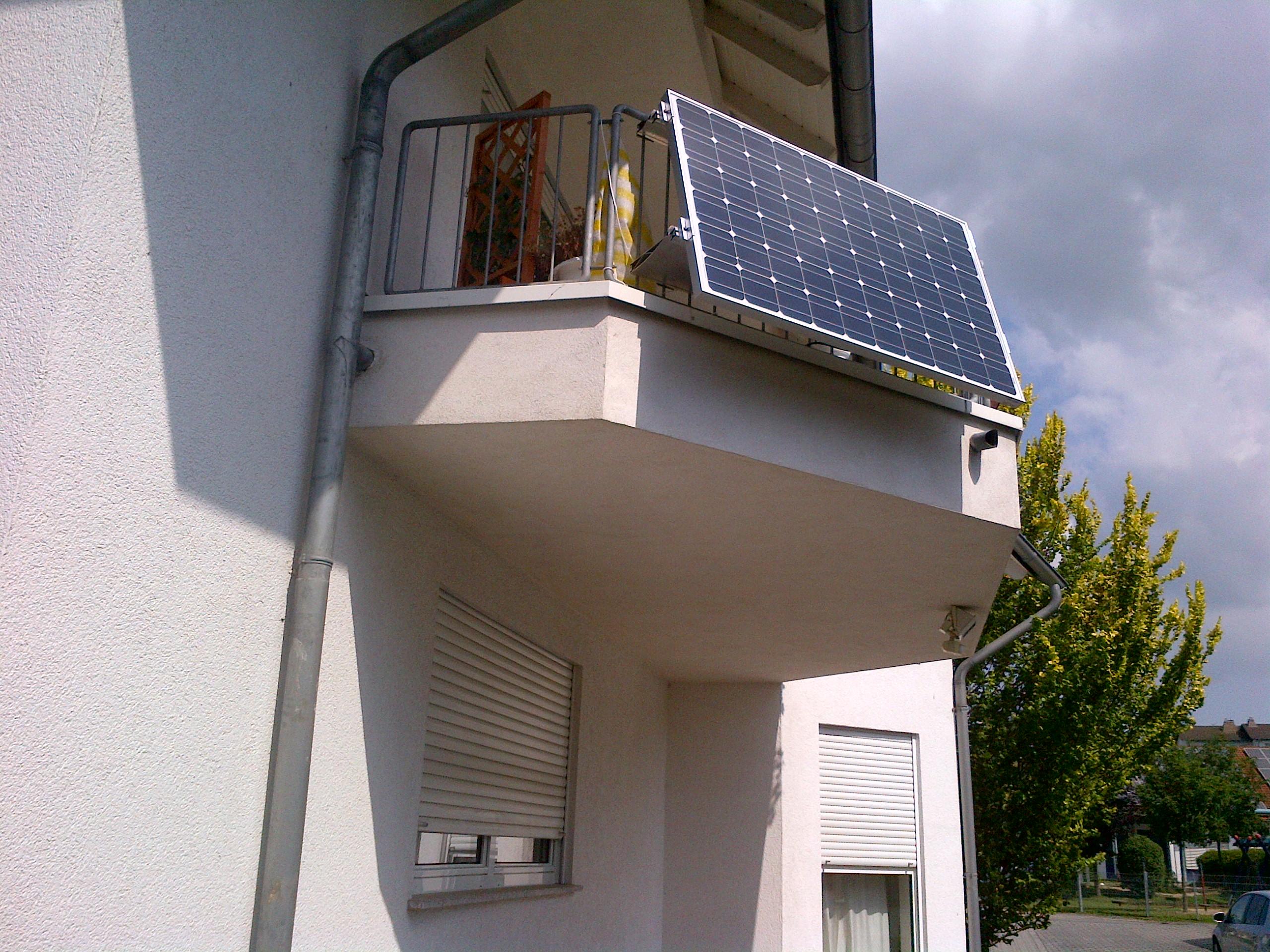 Balkon-Westerwald